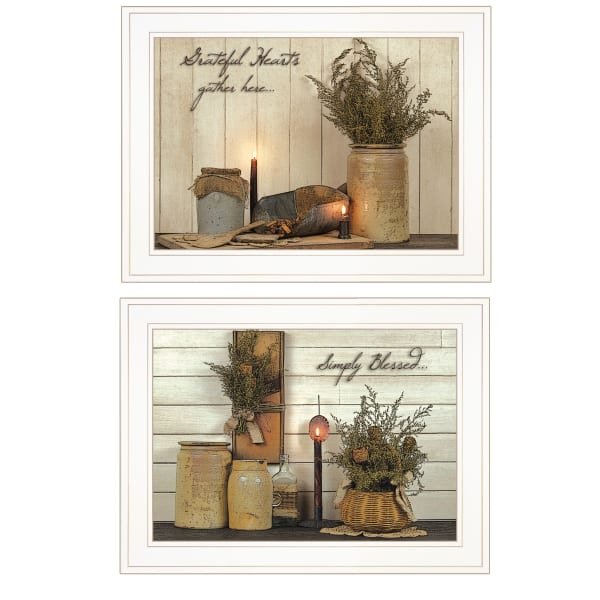 Blessed Gathering By Susan Boyer Framed Wall Art