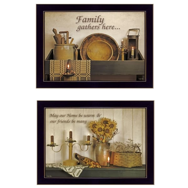 May Our Hearts Be warm By Susie Boyer Framed Wall Art