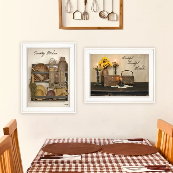 Grateful and Blessed By Susie Boyer Framed Wall Art