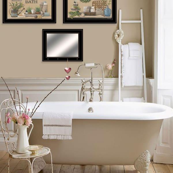 Bath Time By Pam Britton Framed Wall Art