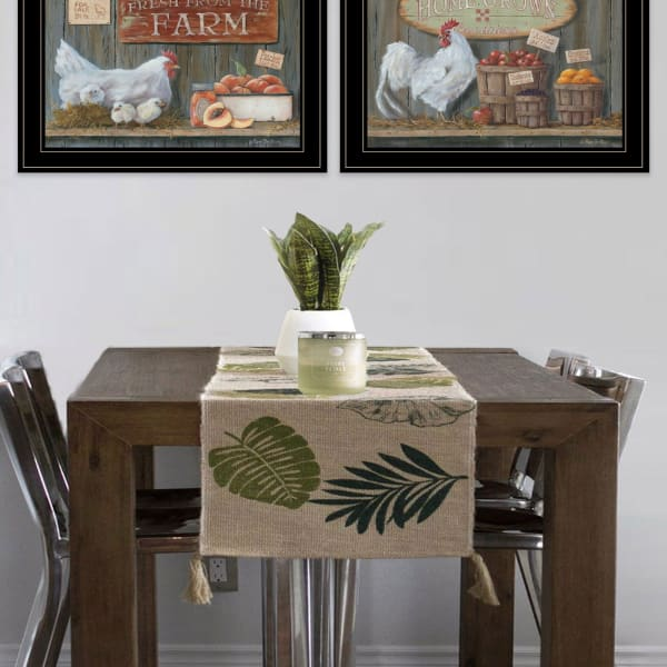 Home Grown By Pam Britton Framed Wall Art