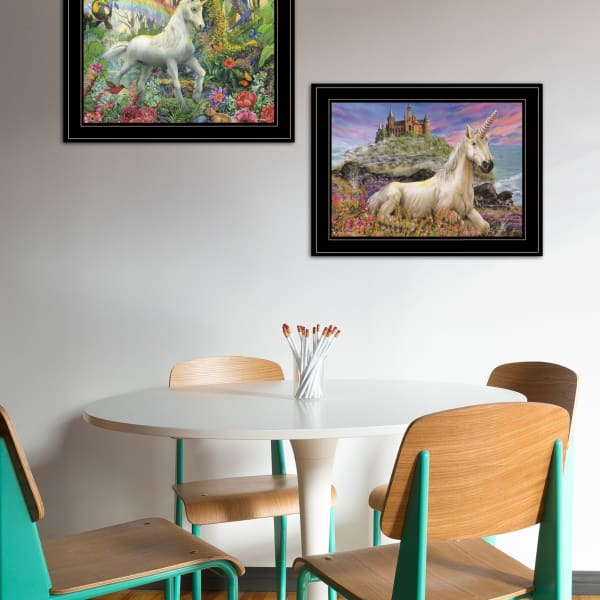 Unicorn's For You By Ed Wargo Framed Wall Art