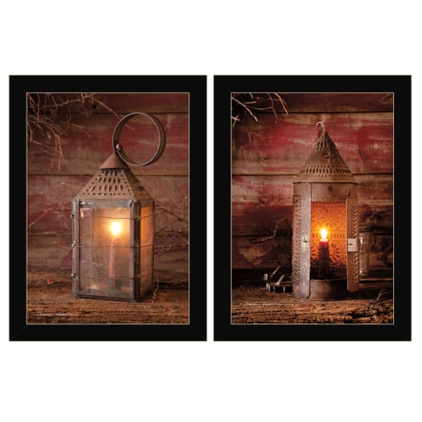 Innkeeper's Lantern By Irvin Hoover Framed Wall Art