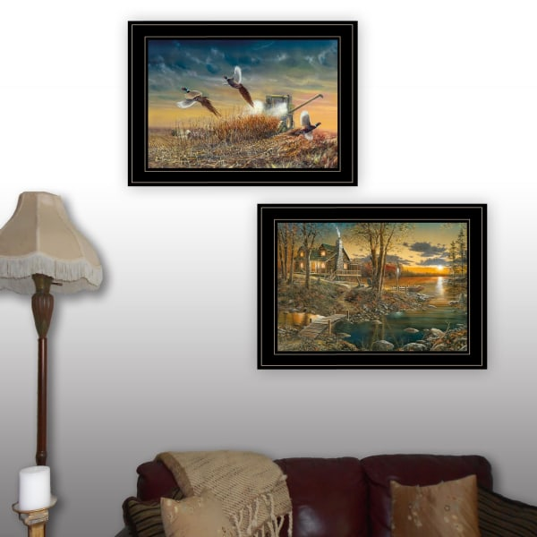 Comforts of Home Collection By Jim Hansen Framed Wall Art