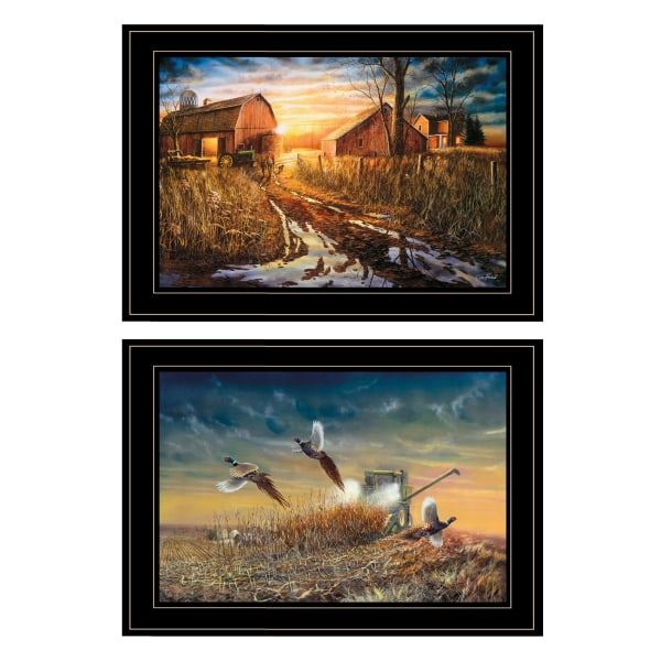 Days Not Forgotten Collection By Jim Hansen Framed Wall Art