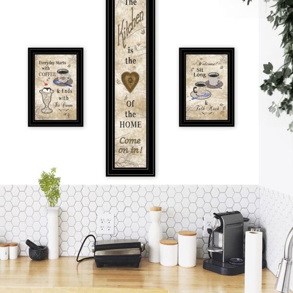 Love of Nature Kitchen 3-Piece Vignette Framed Wall Art