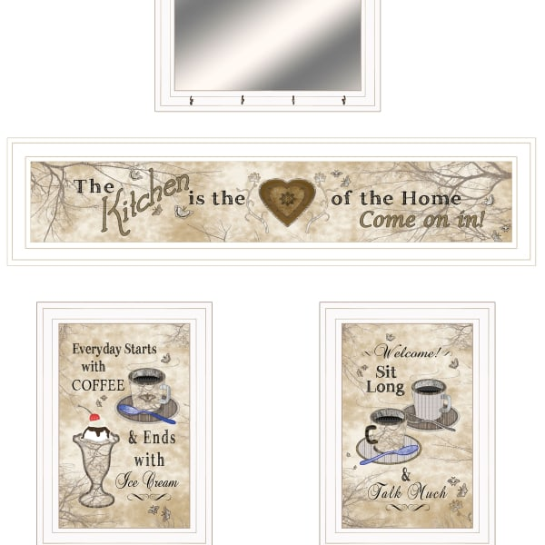 Love of Nature Kitchen Framed Wall Art
