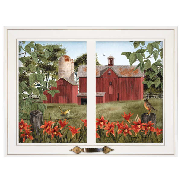 Summer Days by Billy Jacobs Framed Wall Art