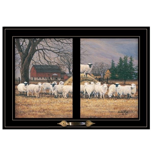 Wool Gathering by Bonnie Mohr Framed Wall Art
