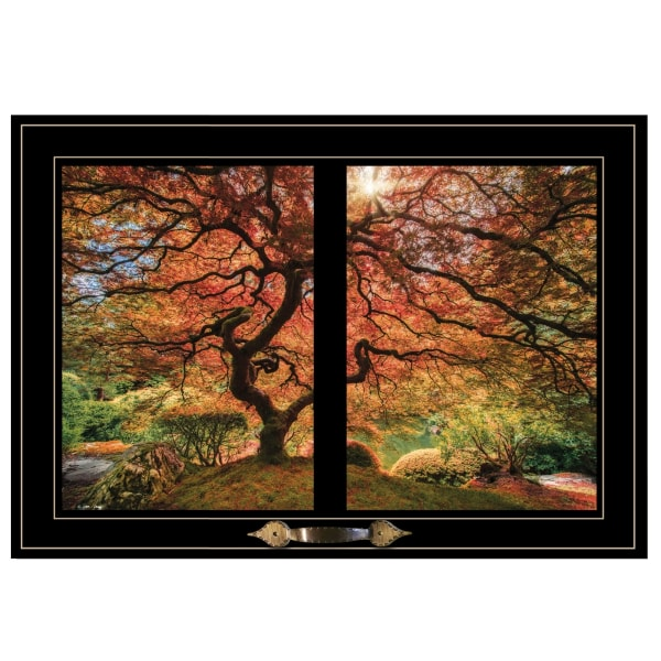 First Colors of Fall I by Moises Levy Framed Wall Art