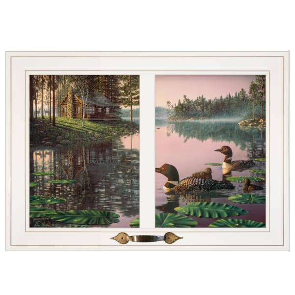 Northern Tranquility by Kim Norlien Framed Wall Art