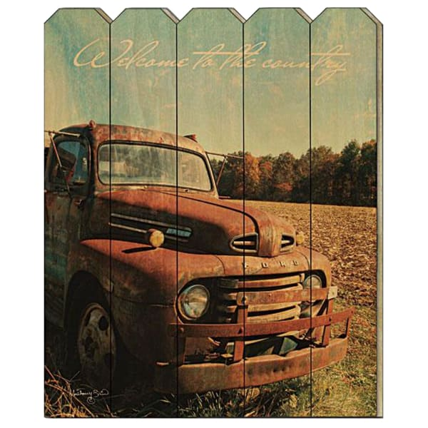 Welcome to the Country by Anthony Smith Wall Decor