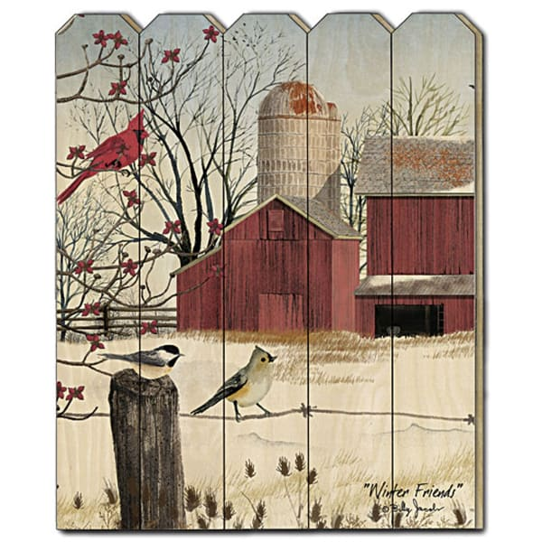 Winter Friends by Billy Jacobs Wall Decor