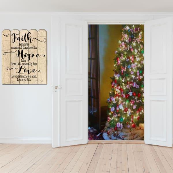 Faith Hope Love by Cindy Jacobs Wall Decor