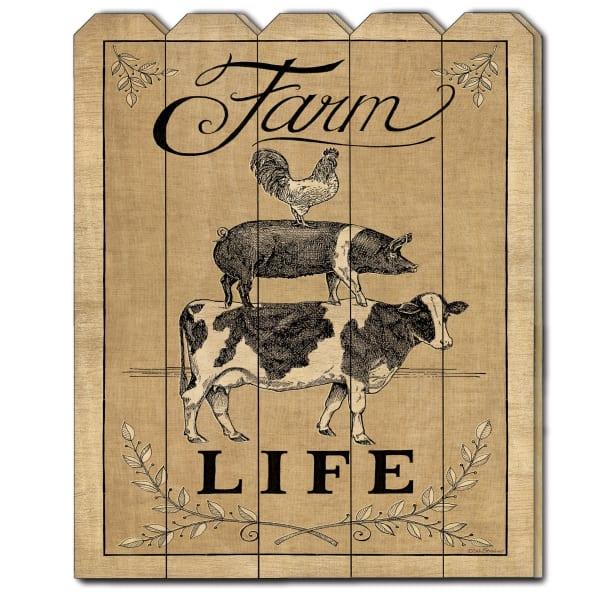 Farm Life by Deb Strain Wall Decor