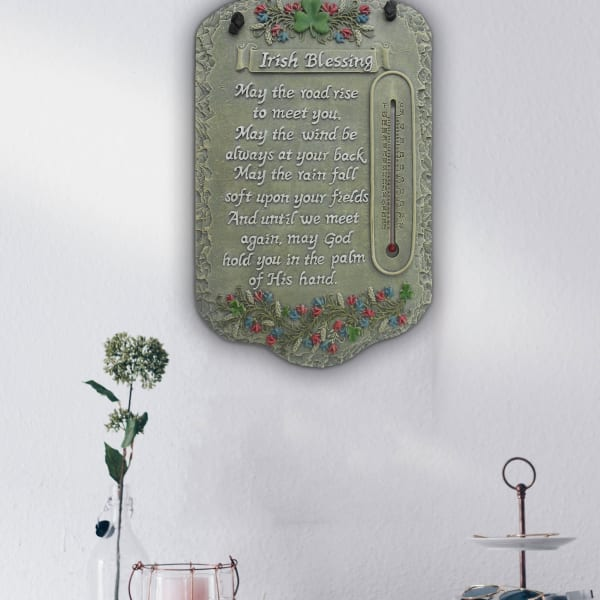 Welcome Sign Irish Blessing Wall Decor
