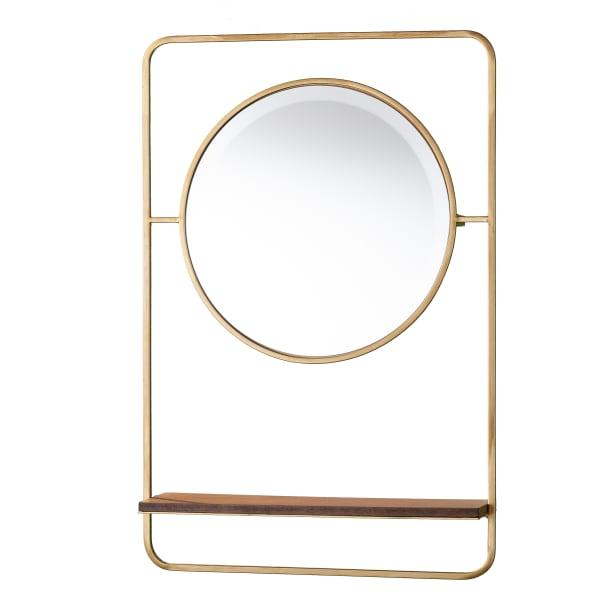 Raife Entryway Mirror w/ Shelf