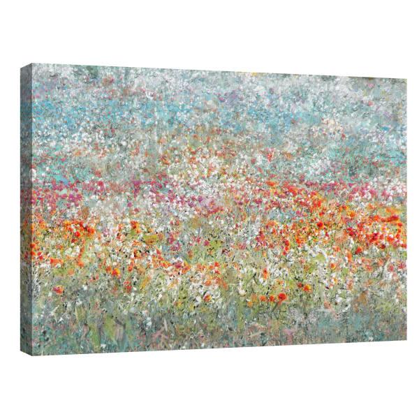 Flower Field by Studio Arts Canvas Wall Art