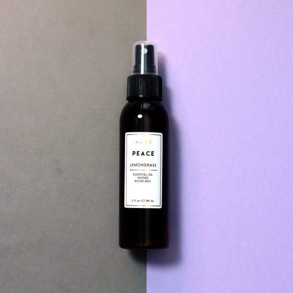 Peace Lemongrass Essential Oil Room Spray