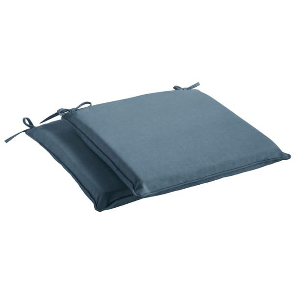 Sunbrella Spectrum Denim Set of 2 Chair Pads
