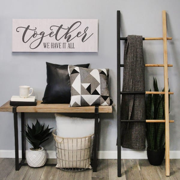 Together We Have It All Oversized Wall Decor