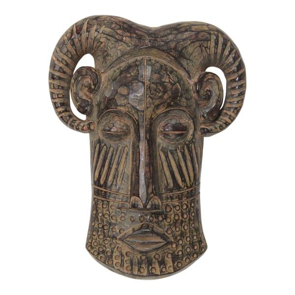 Long Tribal Mask Wall Decor