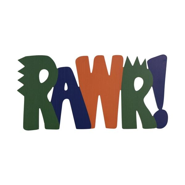 RAWR Wall Decor