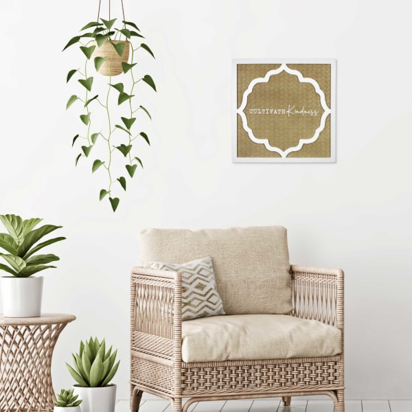 Cultivate Kindness Framed Wall Decor