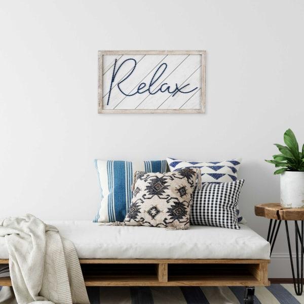 Relax Framed Wall Decor