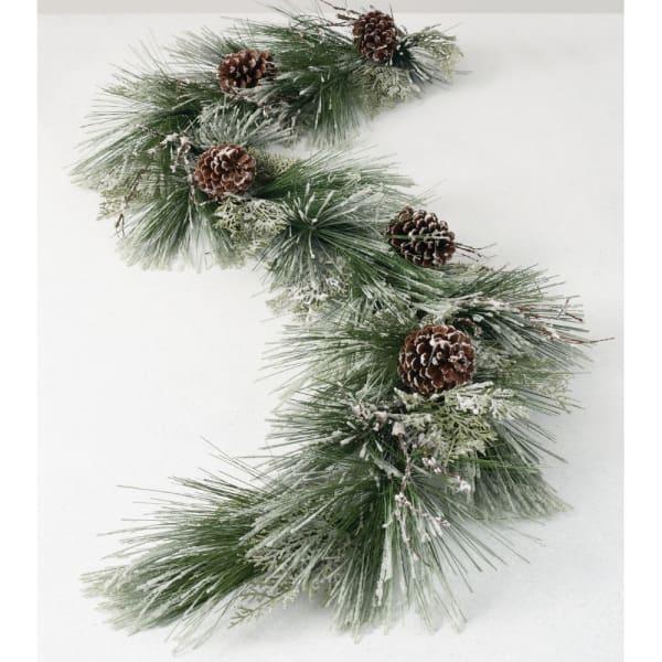 Ice Pine Cedar Garland