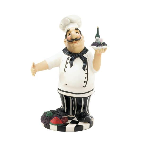 Chef Wine Bottle Holder