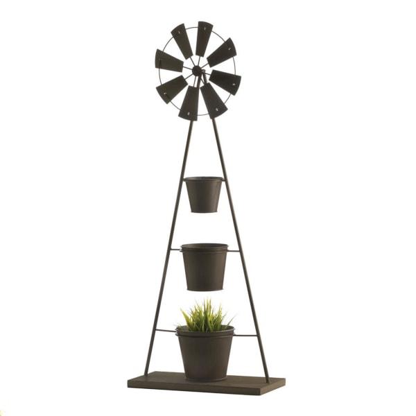 Windmill Plant Stand