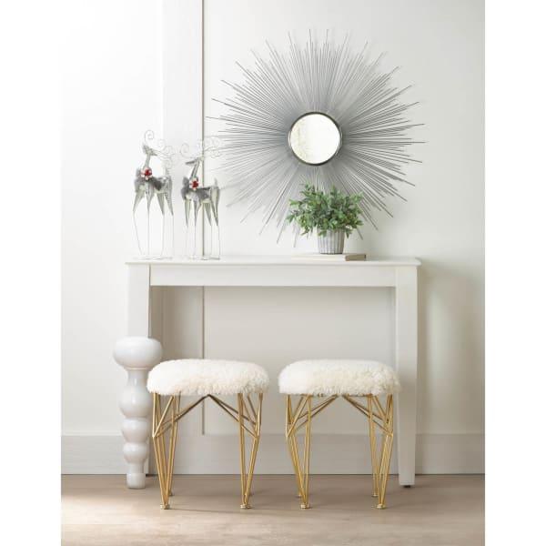 Silver Rays Mirror