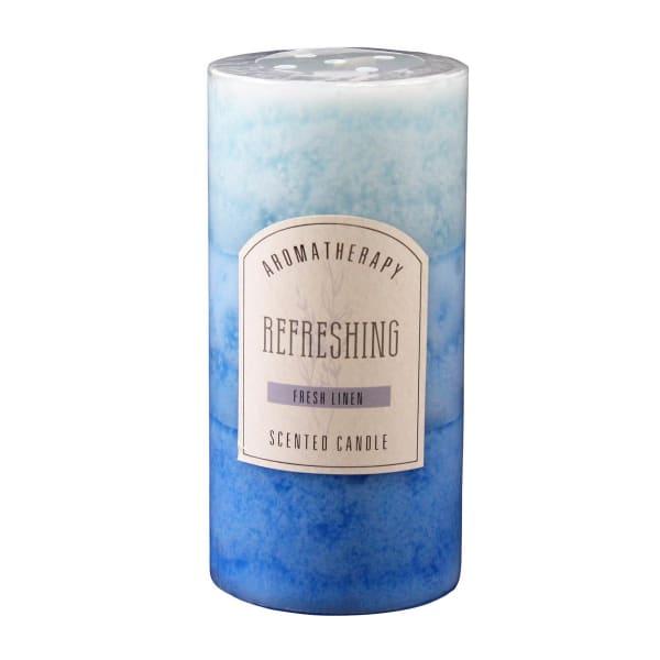 Fresh Linen Pillar Candle