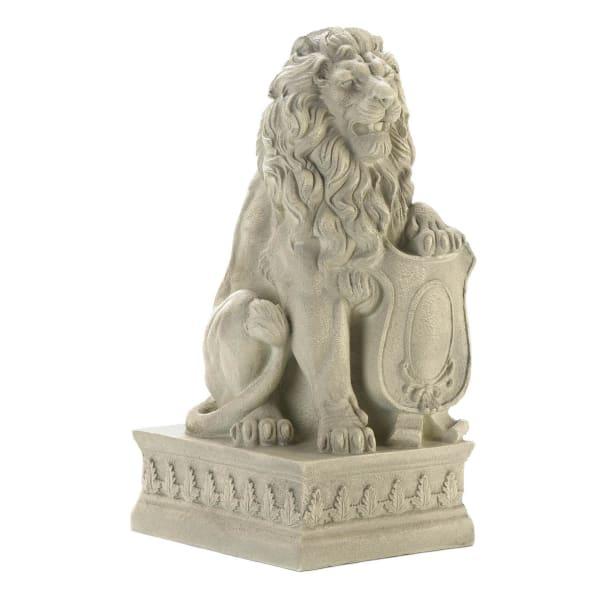 Ivory Lion Statue