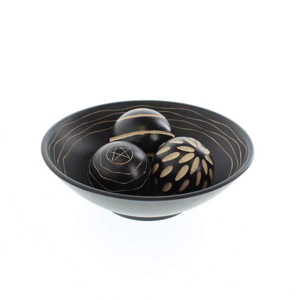 Artisan Deco Bowl and Spheres