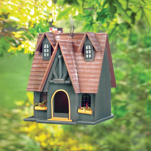 Magical Storybook Cottage Birdhouse