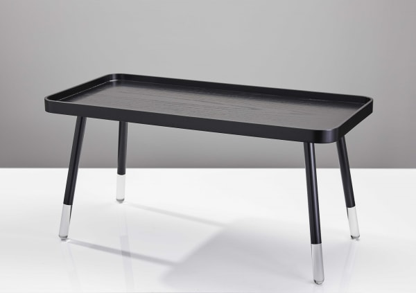 Contemporary Sleek Black Coffee Table