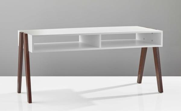 White Modern Retro Coffee Table