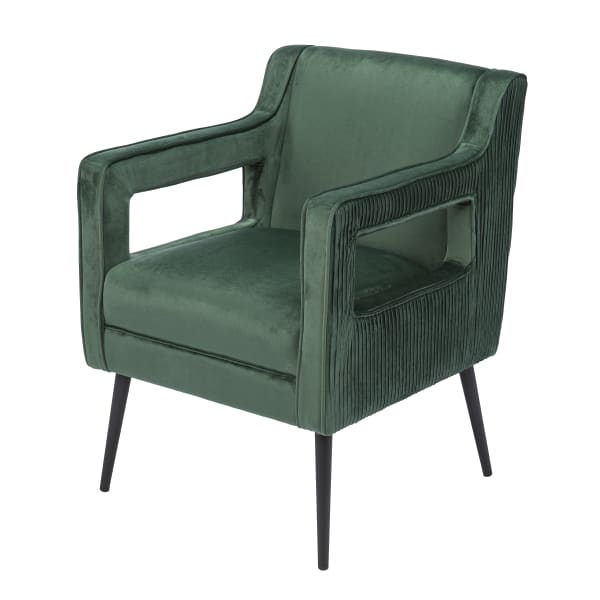 Hortense Upholstered Accent Arm Chair