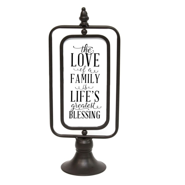 The Love of a Family Decorative Sign