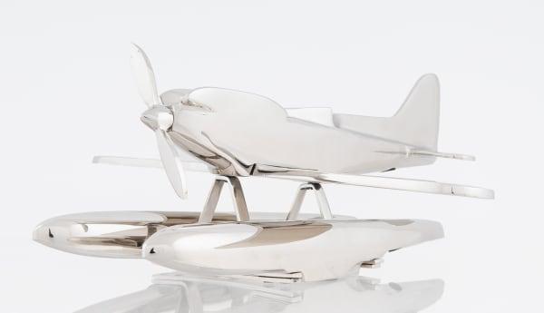 Aluminum Seaplane Model