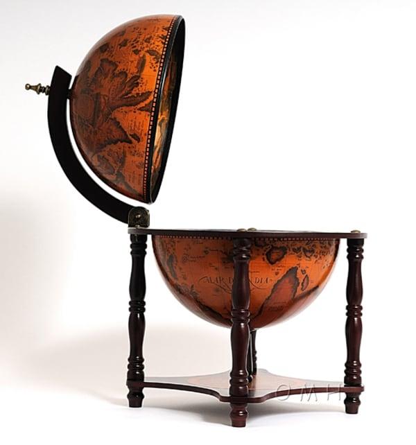 Nautical Globe Bar