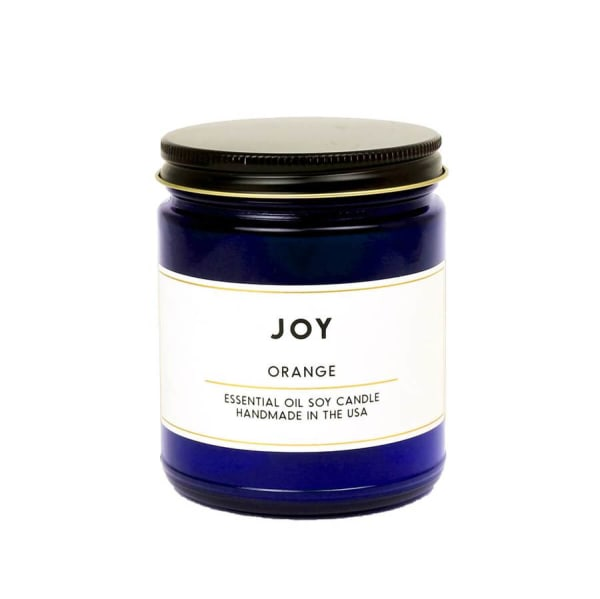 Joy Orange Essential Oil Aromatherapy Soy Scented Candle