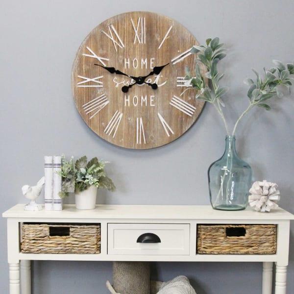 Distressed Cozy Wall Clock