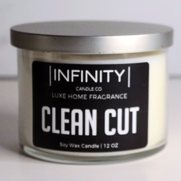 Clean Cut Soy Wax Candle
