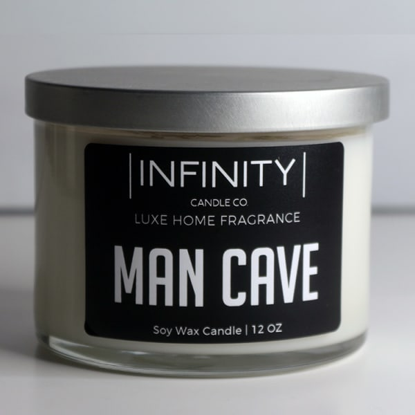Man Cave Soy Wax Candle