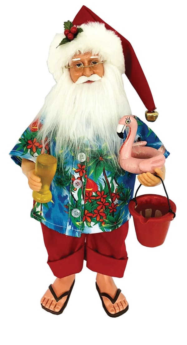 Beach Merry Christmas Claus 15