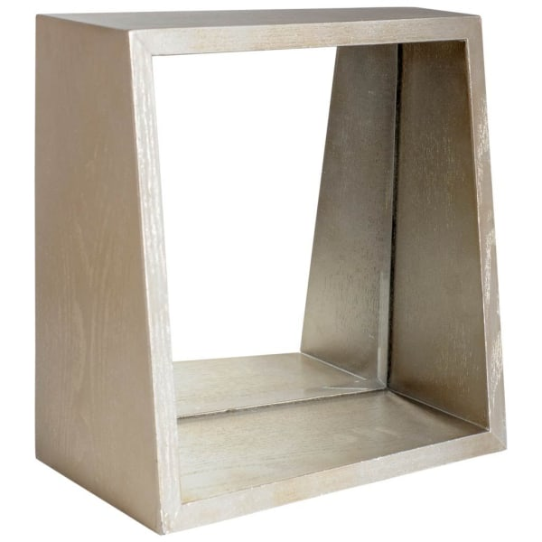 Champagne Wood Mirror Box