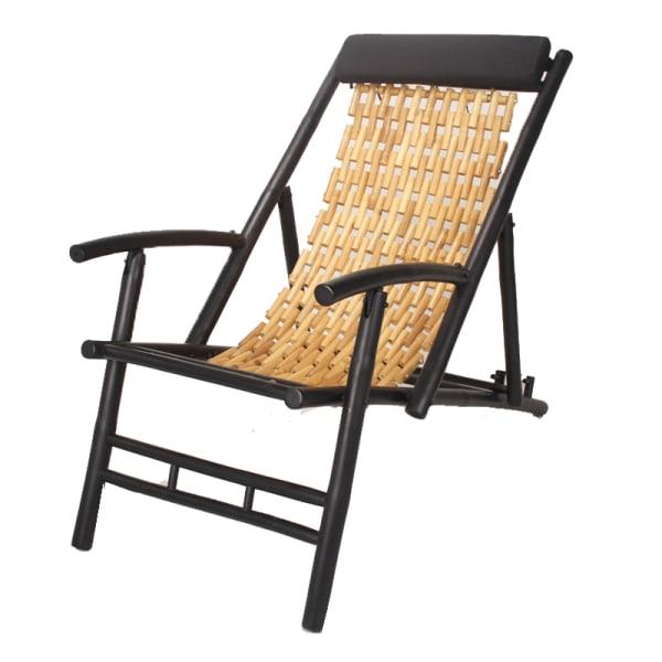Natural Bamboo Sling Chair